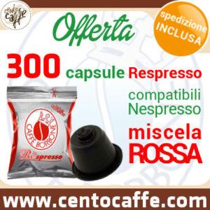 300-capsule-borbone-respresso-rosso